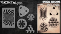 Picture of Tattoo Pro Stencil -  Optical Illusions (ATPS170)