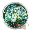 Picture of Art Factory Chunky Glitter - Mermaid - 50ml