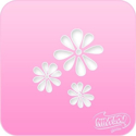 Picture of Pink Power Face Painting Stencil (1012) - Daisies