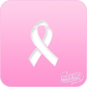 Picture of Pink Power Face Painting Stencil (1037) - Awareness Ribbon