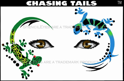 Picture of Chasing Tails Stencil Eyes Stencil - (8 YRS and UP)