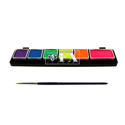 Picture of DFX Mini Palette 6 Colors Neon (1x6, 5x3 Gram) - FSM6Nsm