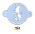 Picture of TAP 091 Face Painting Stencil - Mystical Mermaid