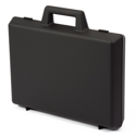 "Picture of Empty Large Briefcase - Black (Inside: 15.75"" x W=11.25"" x H=3"")"