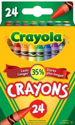 Picture of Crayola Crayons - 24 pc