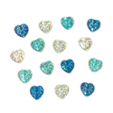 Picture of Heart Gems - Icy Set - 10mm (15 pc.) (AG-H1)