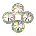 Picture of Double Round Gems - Crystal - 20mm (4 pc.) (SG-DRC)