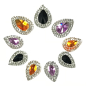 Picture of Double Teardrop Gems - Spooky Set - 10-18mm  (9 pc.) (AG-DT3)