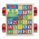 Picture of Melissa & Doug - Classic Toy ABC - 123 Block Cart