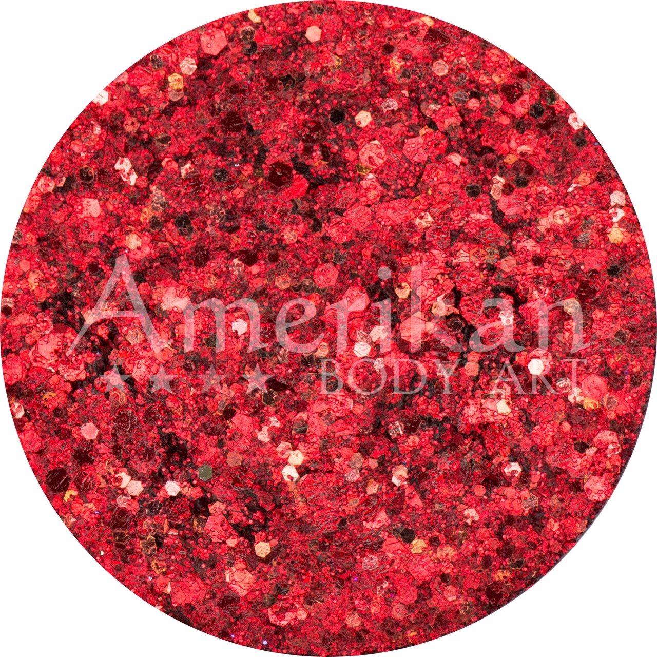 Picture of Amerikan Body Art Chunky Glitter Creme - Cosmos (7 gr)