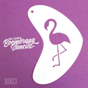 Picture of Art Factory Boomerang Stencil - Flamingo (B003)