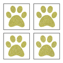 Picture of Mini 4 in 1 Paw Print Glitter Tattoo Stencil - HP (5pc pack)