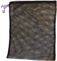 Picture of Art Factory Black Mesh Bag w/ Carabiner - (12x15in)