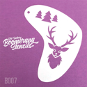 Picture of Art Factory Boomerang Stencil - Deer (B007)