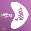 Picture of Art Factory Boomerang Stencil - Pineapple (B012)