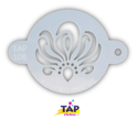 Picture of TAP 106 Face Painting Stencil - Swirly Ribbon Centrepiece