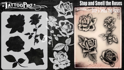 Picture of Tattoo Pro Stencil -  Stop and Smell the Roses (ATPS189)
