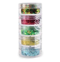 Picture of Vivid Glitter Stackable Loose Glitter - Christmas Miracle 5pc (10g)