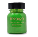 Picture of Mehron Liquid Makeup Green - 1oz