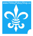 Picture of Fleur de Lis Stencil #2 ( ABA ) pack of 10