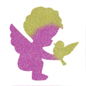 Picture of Cupid and Dove Glitter Tattoo Stencil - HP (5pc pack)