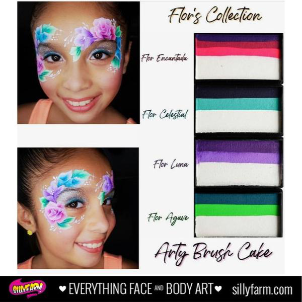 Picture of Silly Farm -  Flor Moreno Collection - Luna Arty Brush Cake - 30g