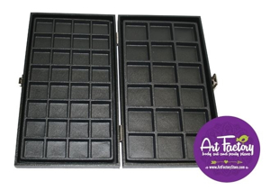 Picture of Wooden Case with 50 compartments (see issue details)