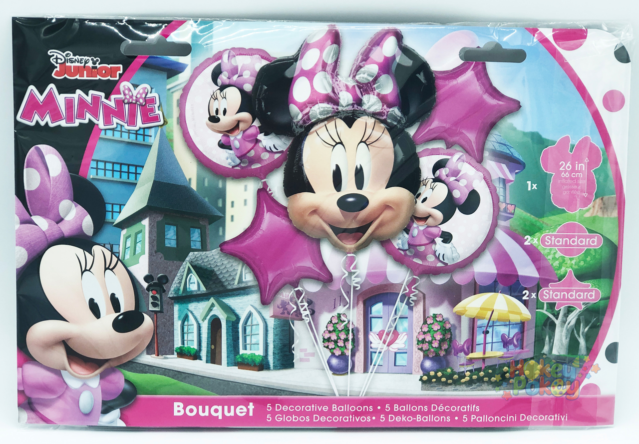 Picture of Balloon Bouquet - Minie Mouse Forever (5 pc)