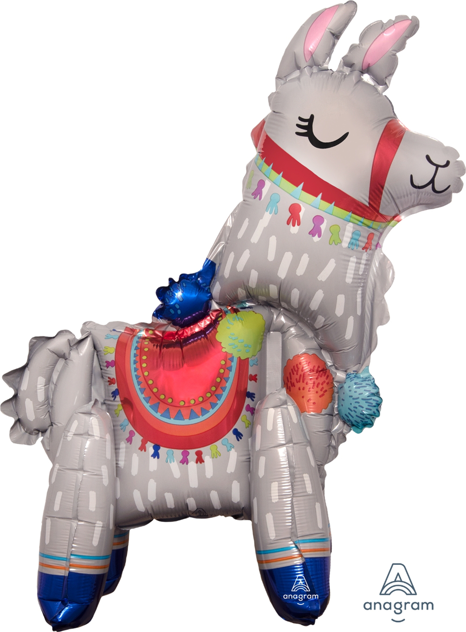 Picture of Air-Filled Decoration - Standing Lama  (1pc)