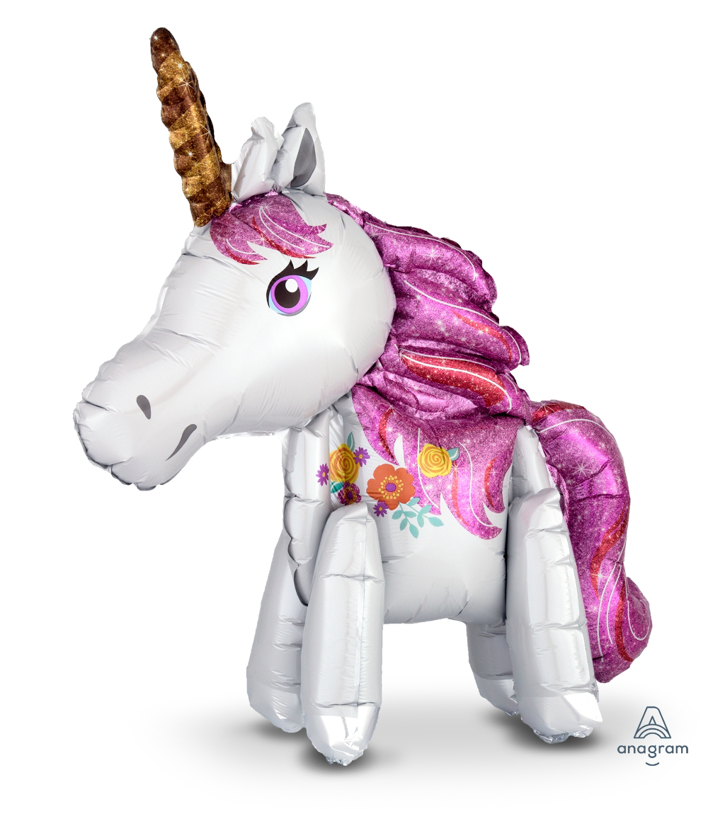 Picture of Air-Filled Decoration - Magical Unicorn  (1pc)