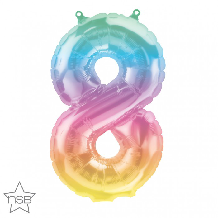 "Picture of 16"" Number 8 Jelli Ombre (1pc)"