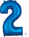 Picture of 26'' Mid-Size Shape Number 2 - Blue (1pc)