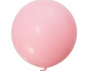 Picture of Qualatex 3FT Round - Pink Balloon (2/bag)