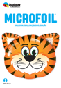 "Picture of 30"" Tickled Tiger Foil Balloon (1pc)"