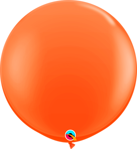 Picture of Qualatex 3FT Round - Orange Balloon (2/bag)