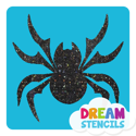 Picture of Tribal Spider Glitter Tattoo Stencil - HP-181 (5pc pack)