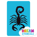 Picture of Scorpion - 3  Glitter Tattoo Stencil - HP-205 (5pc pack)