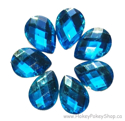 Picture of Teardrop Gems - Sky Blue - 13x18mm (7 pc.) (SG-T1)