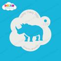 Picture of Rhinoceros - Dream Stencil - 229
