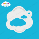 Picture of Clouds - Dream Stencil - 13