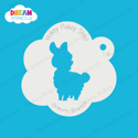 Picture of Baby Llama - Dream Stencil - 14
