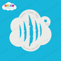 Picture of Scratch Marks - Dream Stencil - 39