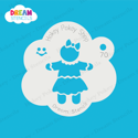 Picture of Gingerbread Girl- Dream Stencil - 70