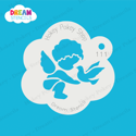 Picture of Cupid and Dove - Dream Stencil - 111
