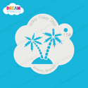Picture of Palm Trees - Dream Stencil - 158