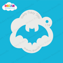 Picture of Classic Bat - Dream Stencil - 174