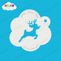 Picture of Flying Rudolph - Dream Stencil - 242