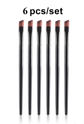Picture of Small Angled Eyebrow Brush Set  - 6pc