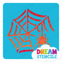 Picture of Crawling Spider With Web Glitter Tattoo Stencil - HP-276 (5pc pack)