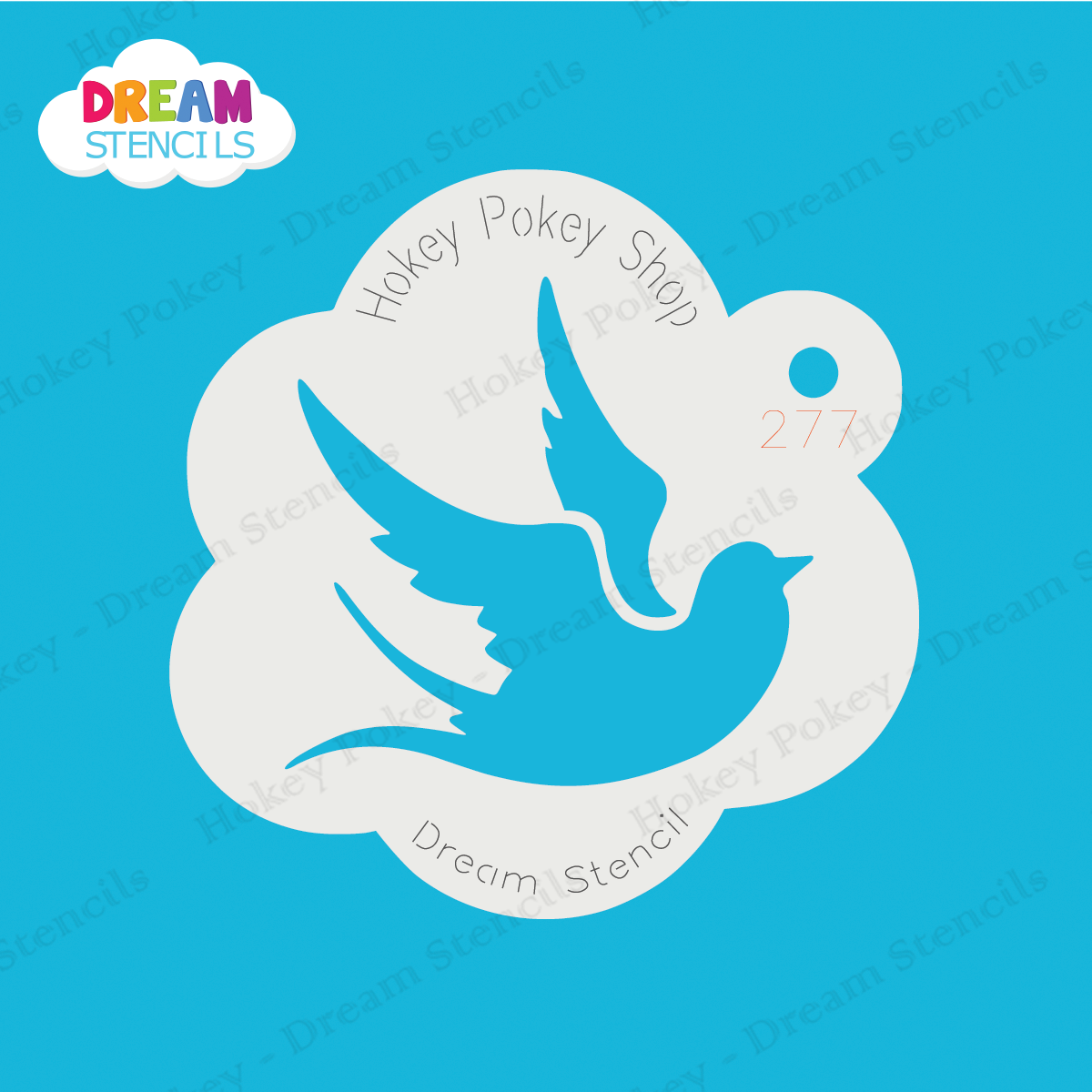 Picture of Swallow - Dream Stencil - 277